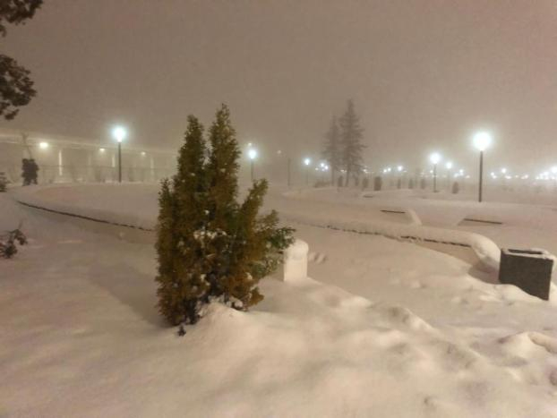 В Вежливый день в Волжском будет много снега