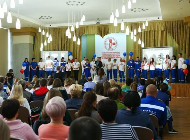 Бригада «Скорой помощи» Волжского СМП победила в конкурсе