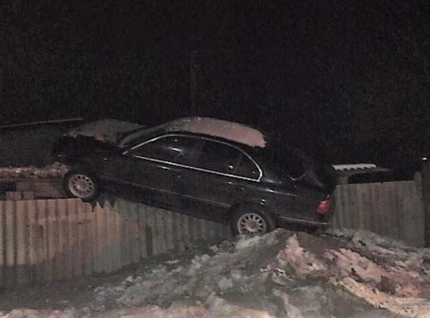 Появилось видео задержания пьяного «летуна» на BMW