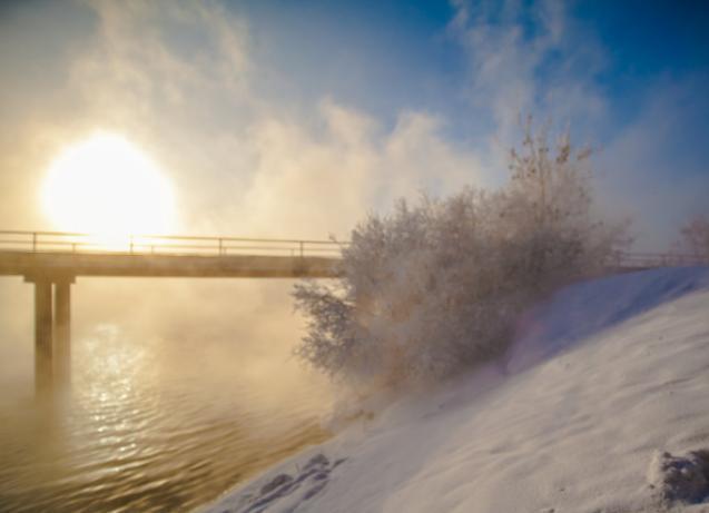 Мороз и солнце пообещали волжанам синоптики во вторник