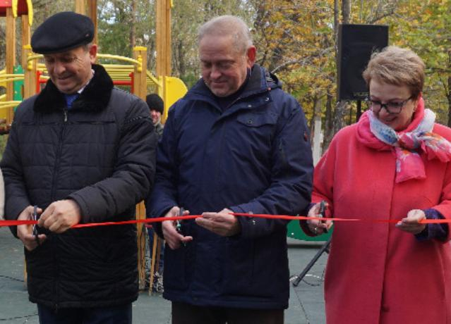 Игорь Воронин презентовал благоустроенные на федеральном уровне территории в Волжском