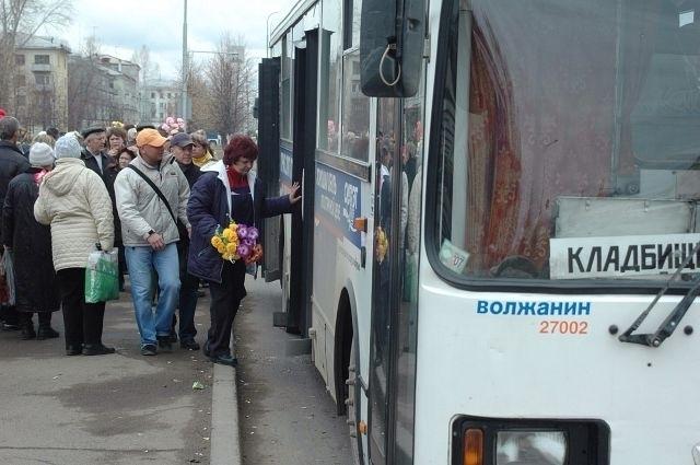Маршрут автобуса который повезет волжан на «Красную горку»