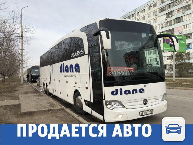 Туристический автобус ищет хозяина в Волжском