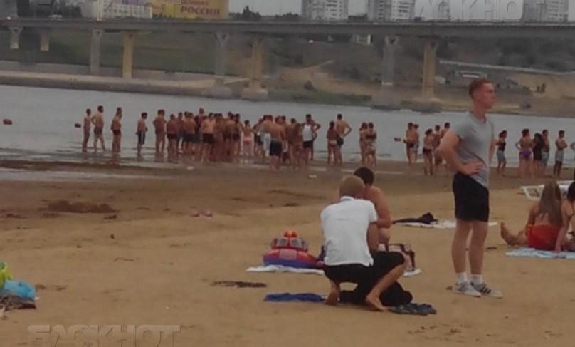 Вотсутствие спасателей на береге вБобрах потонул мужчина