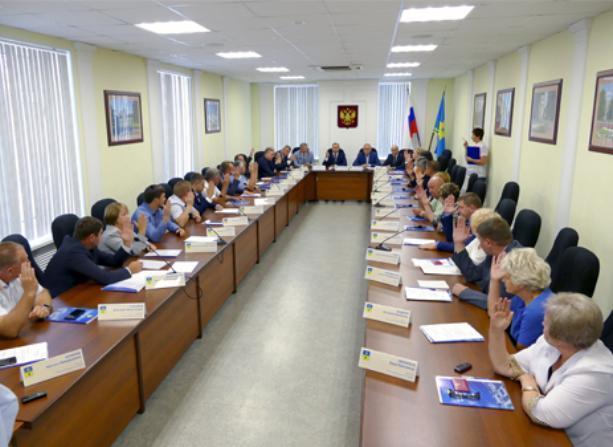 Депутаты внесли изменения в структуру администрации Волжского