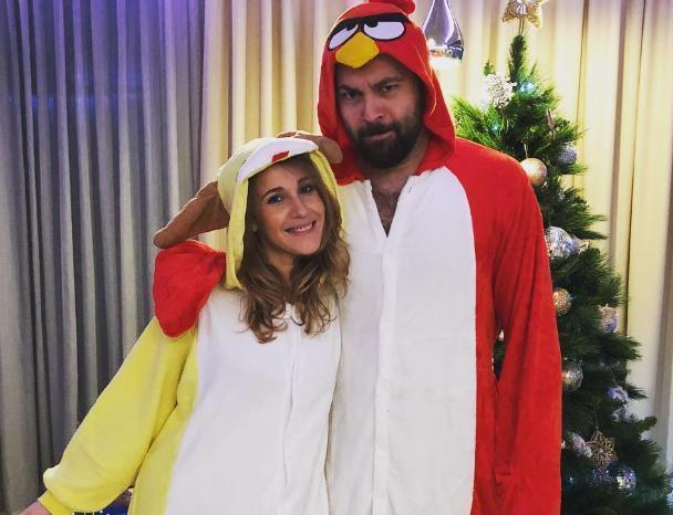 Известная Волжанка Юлия Ковальчук встретила Новый год в костюме собаки