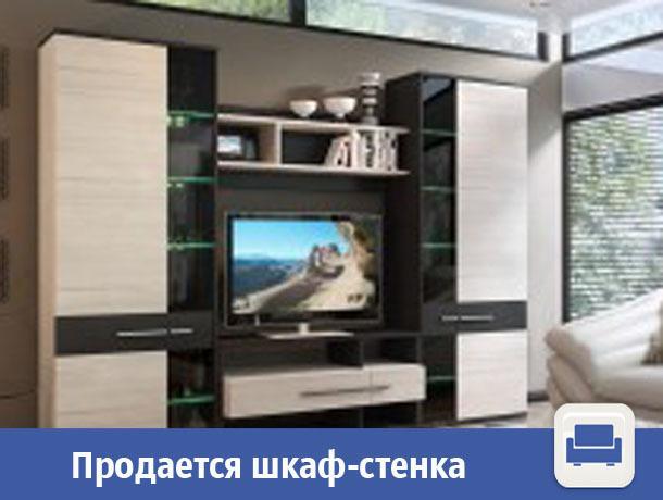 В Волжском продается вместительный шкаф-стенка
