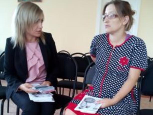 Сотрудники пенсионного фонда обошли роддома Волжского