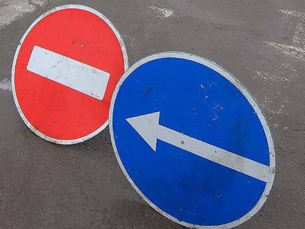 Улицу Свердлова в Волжском закрыли для транспорта