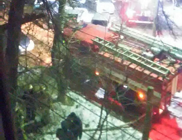 Подвал жилого дома на Пушкина сгорел в Волжском