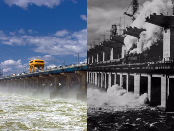 Тогда и сейчас: Волжская ГЭС строилась почти 10 лет