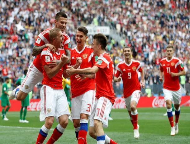 Волжане ликуют: сборная России обыграла Саудовскую Аравию