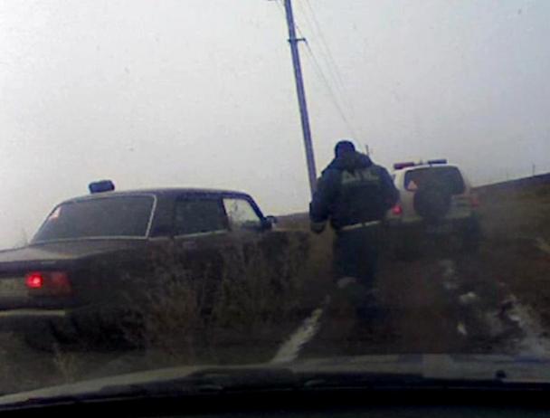 Пьяный «гонщик» на «семерке» вынудил волжских полицейских открыть стрельбу