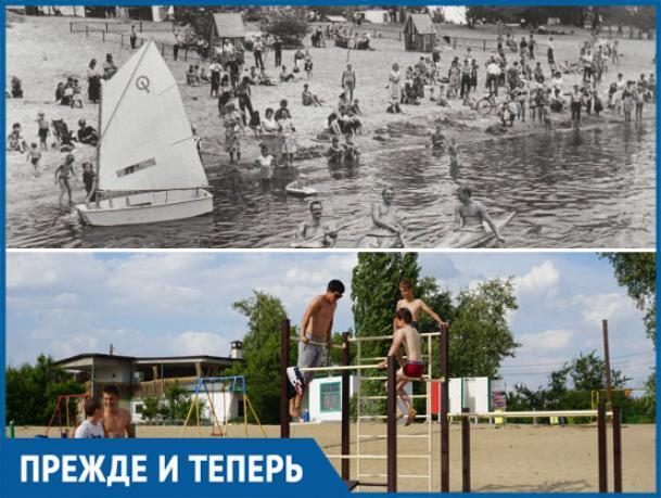 20 лет назад Волжский городской пляж восхищал своих посетителей