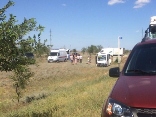 Семь человек пострадали в ДТП с участием маршрутки, - волжанка