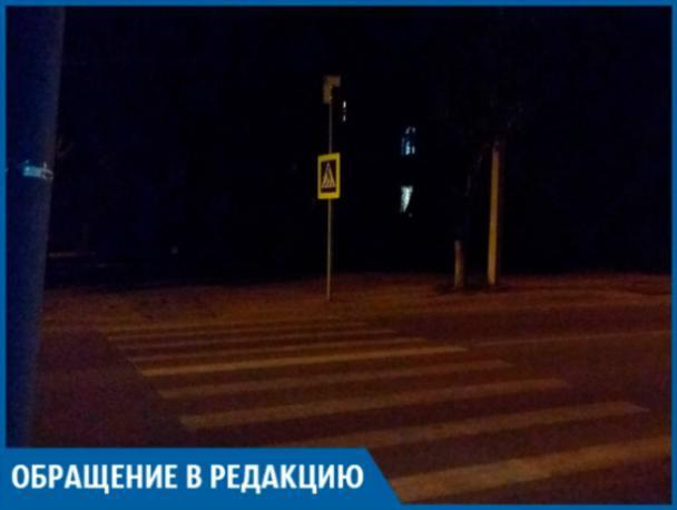 Люди калечатся на темном пешеходном переходе, - волжанин