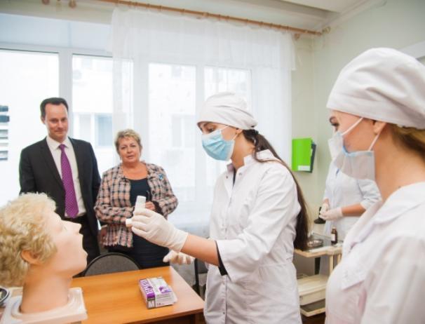 Волжский медколледж получил долю от 20 миллионов