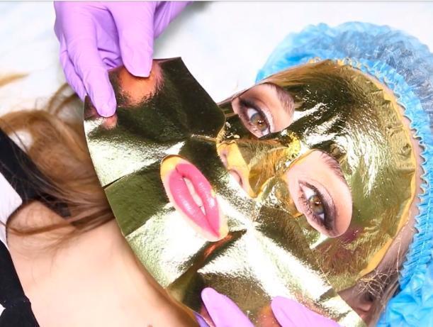 Носи золото на лице