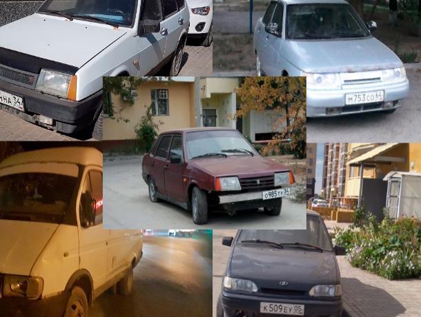 ТОП-5 машин, которые бросили владельцы в Волжском