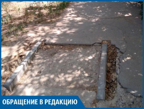 Велосипедист на таком съезде покалечится, - волжанка
