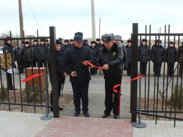 В Волжском открыли новое отделение полиции
